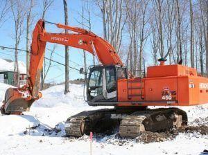 Hitachi Zaxis 450-3, 450lc-3, 470h-3 Excavator Repair Manual