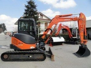 Hitachi Zaxis 60USB-3 Hydraulic Excavator Factory Manuals