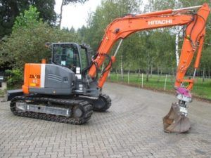 Hitachi Zaxis Zx 85usblc-3 Excavator Workshop Service Pdf Manual