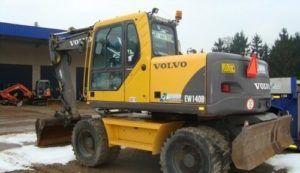 Volvo Ew140b Wheeled Excavator Service Manual