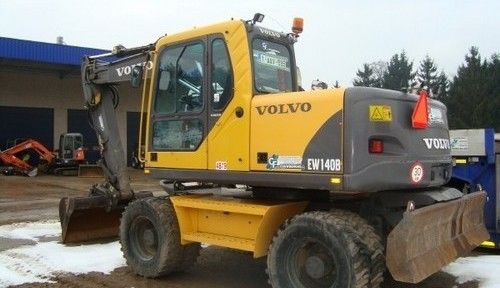 Volvo Ew140b Wheeled Excavator Service Repair Manual