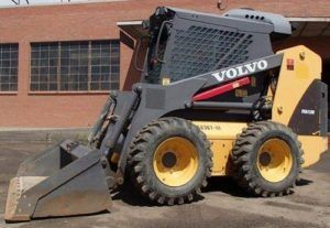 Volvo MC110B Skid Steer Loader Service Parts Catalogue Manual