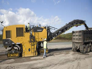 Volvo Mt2000 Tracked Milling Equipment Service